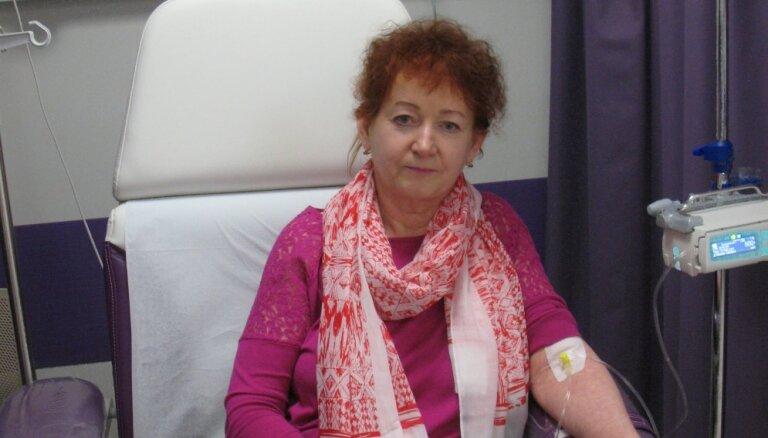 Melanomas paciente izcīna iespēju saņemt zāles vēža uzveikšanai