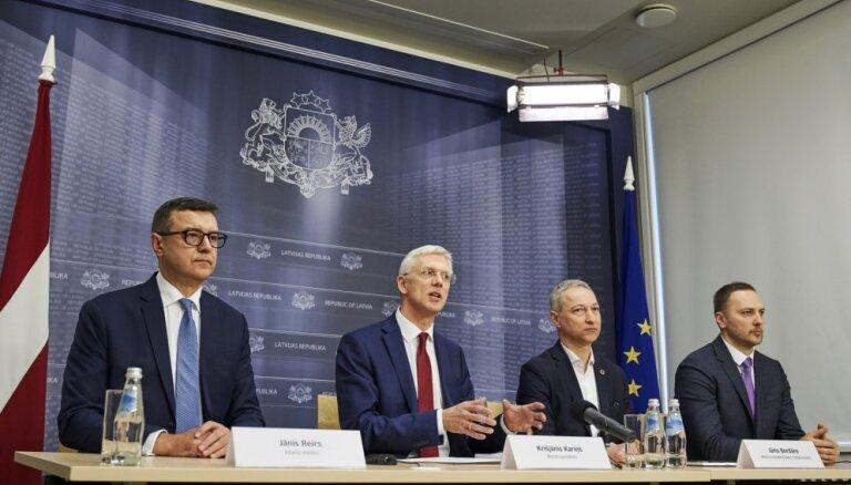Premjers uzdod sākt finanšu sektora kontroles reformu; sola kapitālo remontu