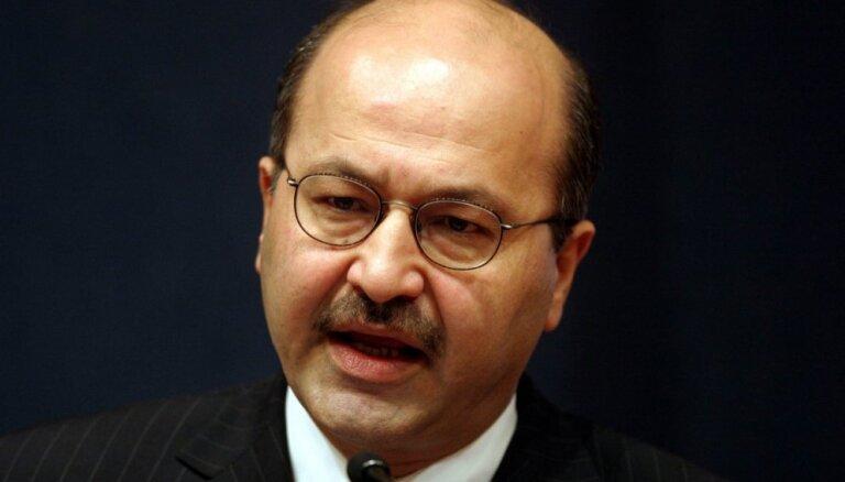 Par Irākas jauno prezidentu apstiprina kurdu Barhamu Salehu