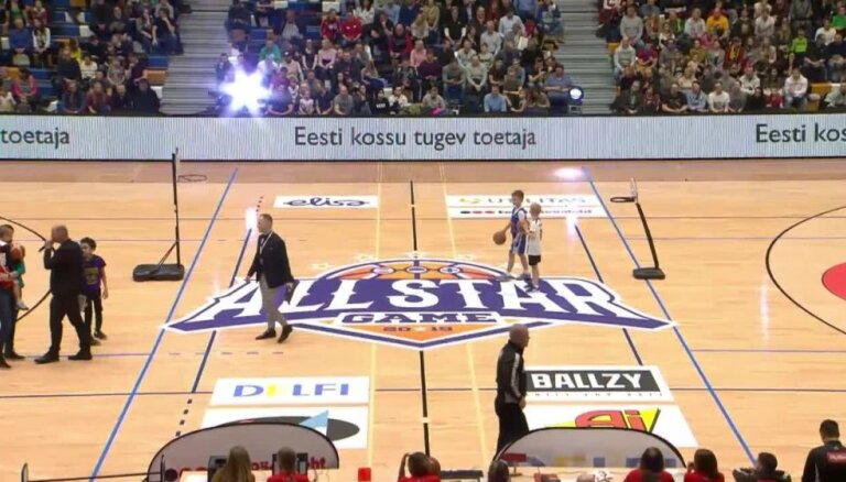 Video: basketbola zvaigžņu atvases rāda 'slam dunk' meistarstiķus