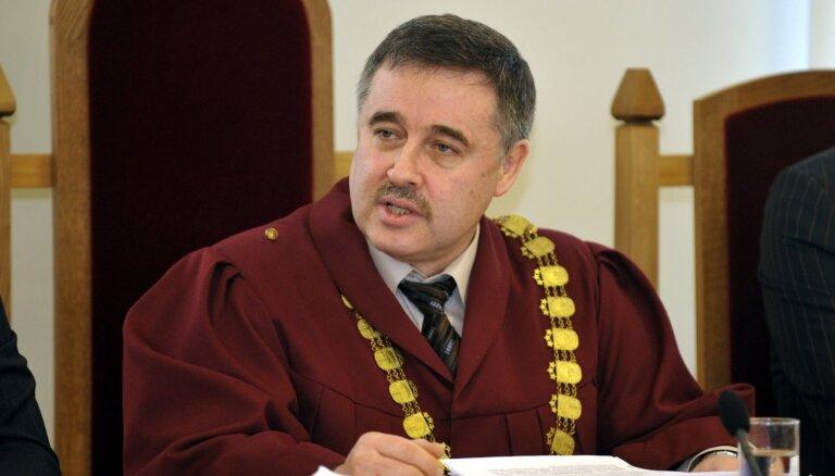 B деле Лембергса больше не может участвовать председатель суда Борис Гейман