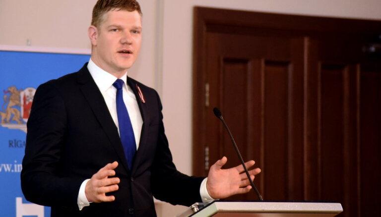 'Vienotības' Rīgas mēra kandidāts aicina koalīciju pēc vēlēšanām nesadarboties ar 'Saskaņu'