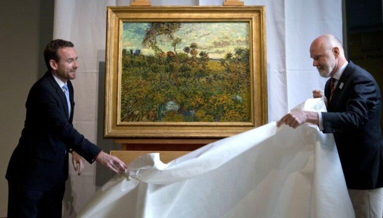 Atrasta līdz šim nezināma van Goga glezna