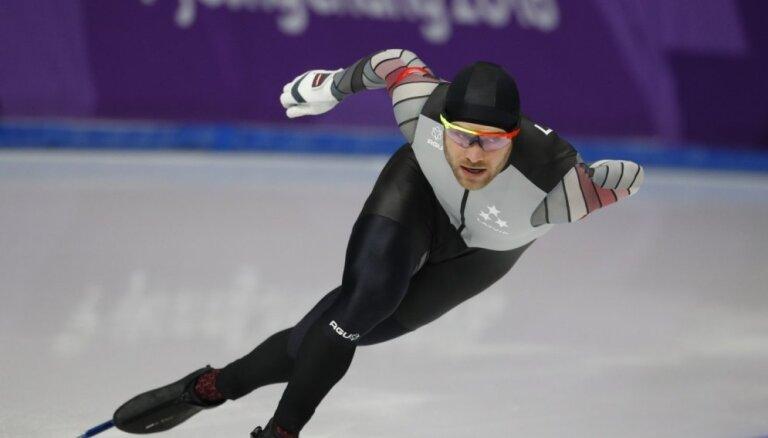Ātrslidotājam Silovam devītā vieta 1000 metru distancē Pasaules kausa posmā B divīzijā