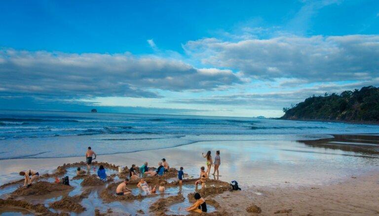 Brīvdabas spa: relaksējoši termālie baseini Jaunzēlandē