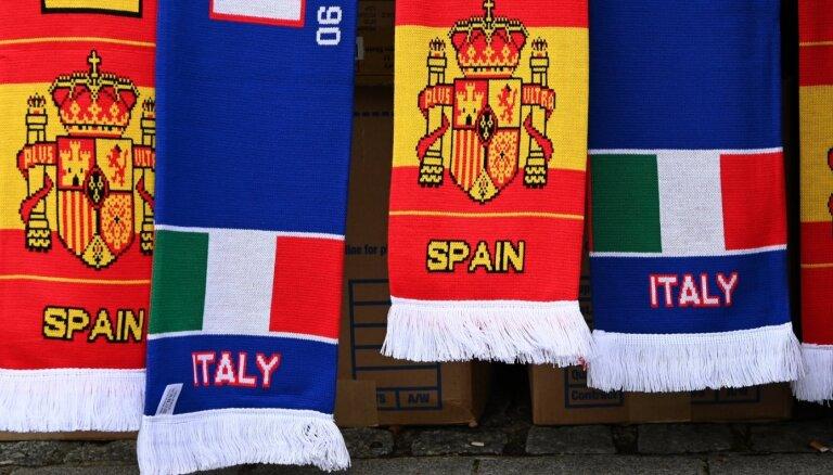 'Euro 2020' pusfināls: Itālija – Spānija. Teksta tiešraide
