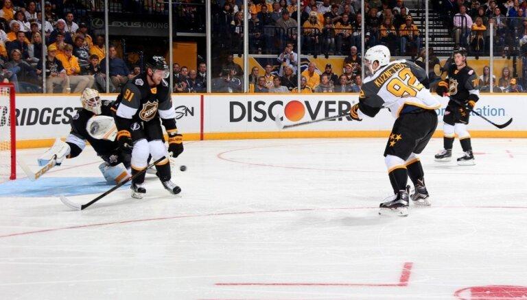 'Capitals' hokejistu Kuzņecovu atzīst par NHL janvāra labāko uzbrucēju