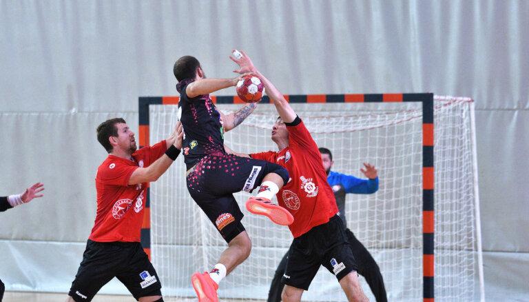 Dobeles 'Tenax' handbolisti EHF Eiropas kausa trešajā kārtā tiksies ar Saloniku PAOK