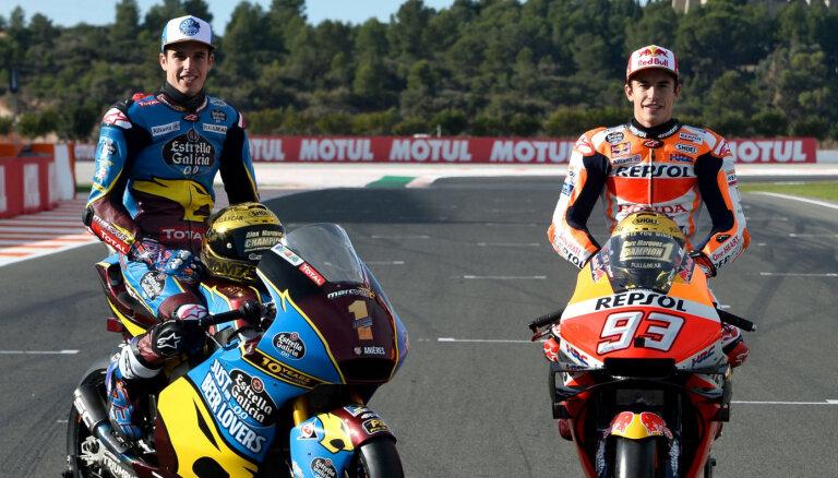 Alekss Markess pievienojas 'Honda' un nākamsezon brauks kopā ar brāli Marku