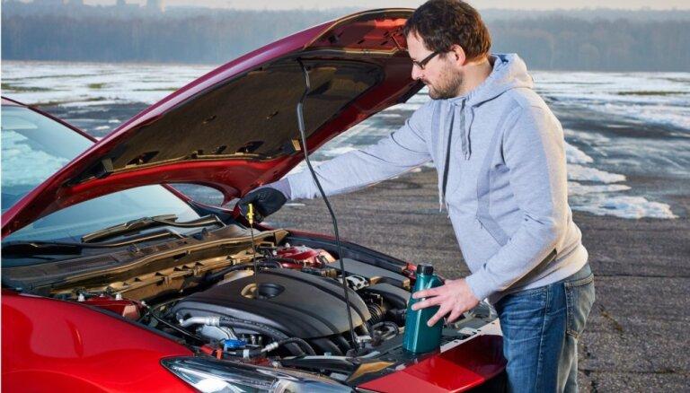 Kā pareizi noglabāt savu auto ziemas periodā