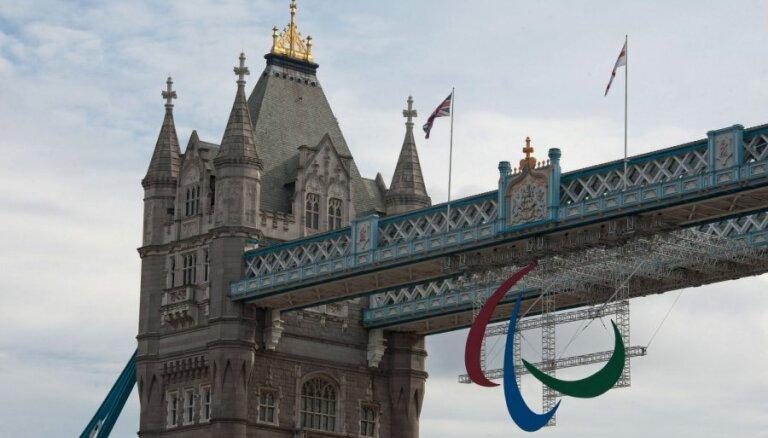 Peldētājam Plotniekam astotā vieta Londonas paralimpisko spēļu 100 metru distancē uz muguras
