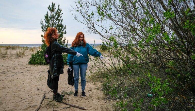 Gružu jūra: ko aiz sevis dabā atstāj (ne)cilvēki