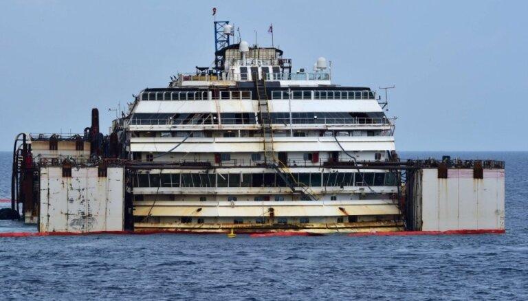 Itālijas tiesa patur spēkā kruīzu kuģa 'Costa Concordia' kapteiņa 16 gadu cietumsodu