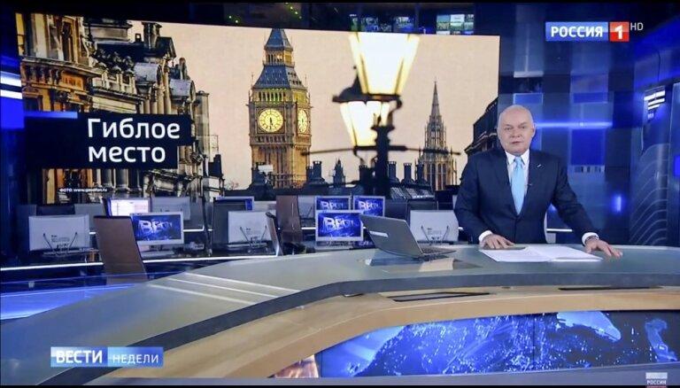 Сейм во втором чтении одобрил ограничение телевещания на русском языке