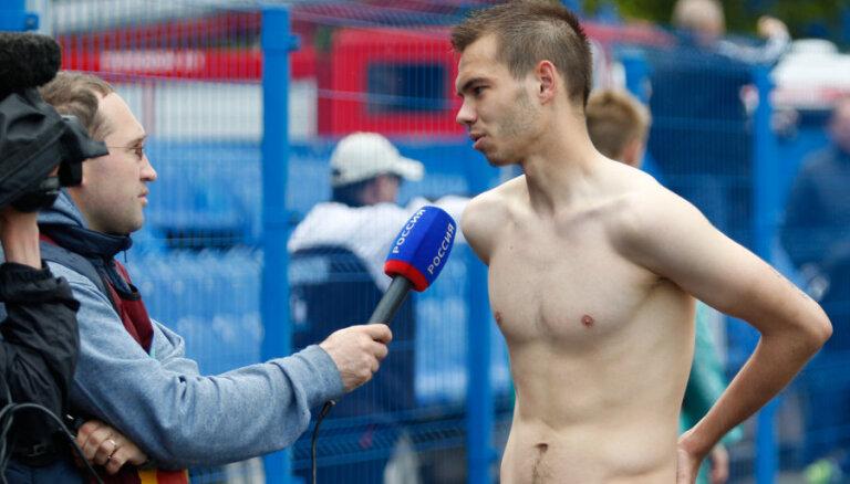 Футболист сборной Латвии возвращается из России домой