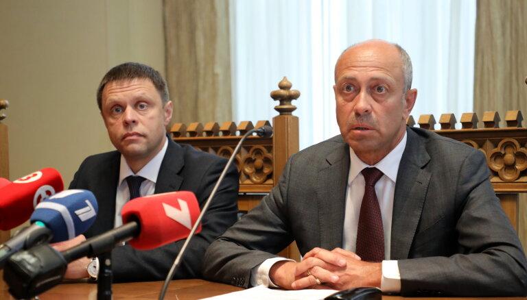 Руководство департаментами Рижской думы, за которые отвечал Баранник, передано Бурову