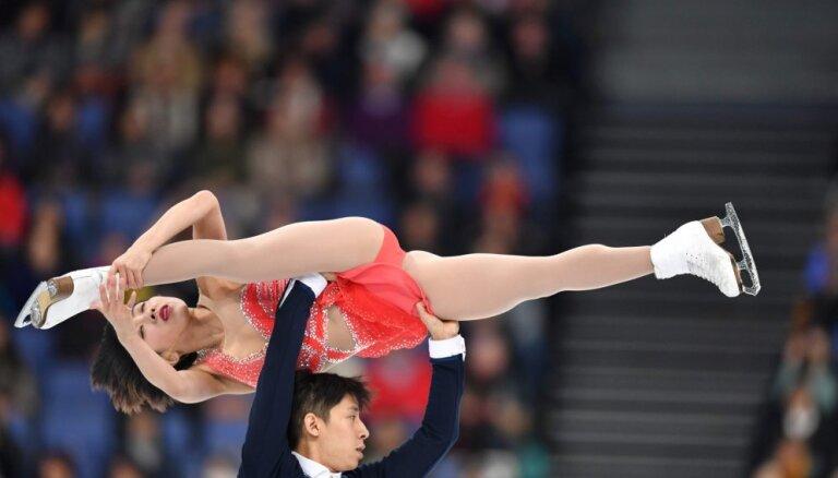 Суй и Хань стали чемпионами мира в парном катании, у россиян — бронза