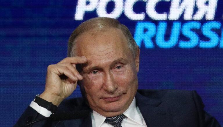 Дислайк от президента: кого критиковал Путин в 2018 году