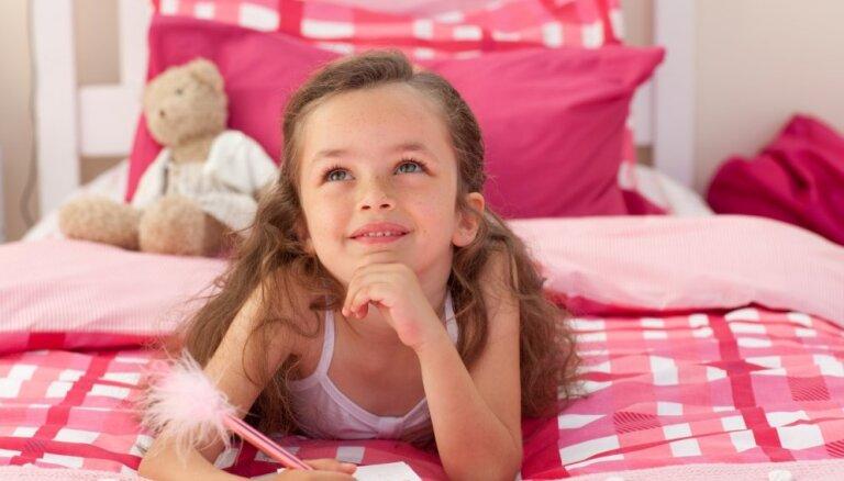 Sapņu istaba mazajām princesēm - interjers ar 'Hello Kitty' noskaņu