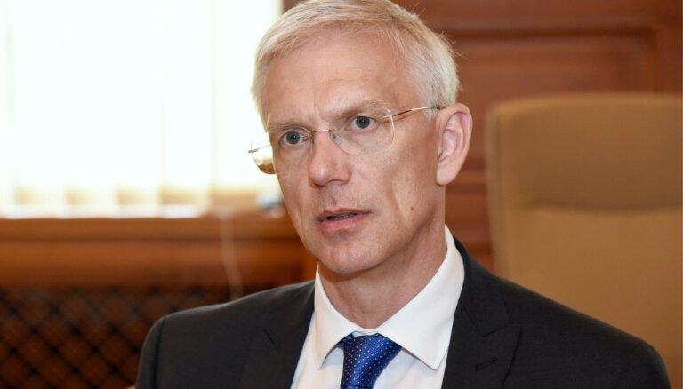 Кариньш: решается вопрос об отмене санкций для Вентспилсского порта