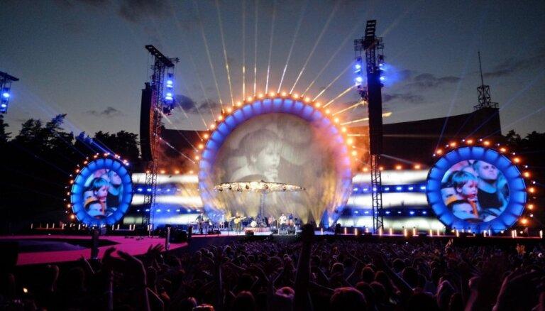 Noskaties! 'Prāta vētra' publicē patriotisku video no vasaras koncerta Mežaparkā