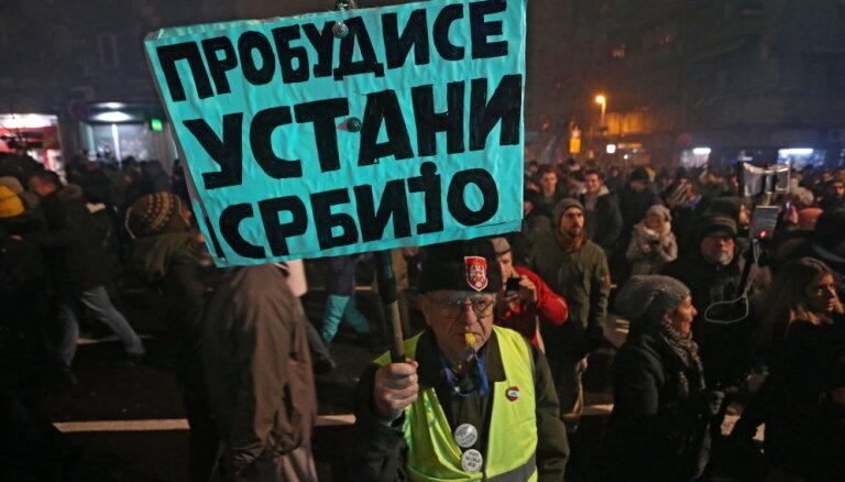 Майдан на Балканах? За что выступают протестующие в Сербии