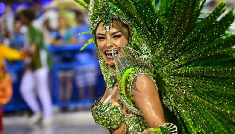 ФОТО, ВИДЕО. В ритме самбы: в Рио-де-Жанейро начался гигантский карнавал