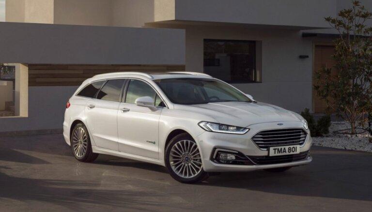 'Ford' modernizējis 'Mondeo' modeli un piedāvā to arī hibrīda versijā