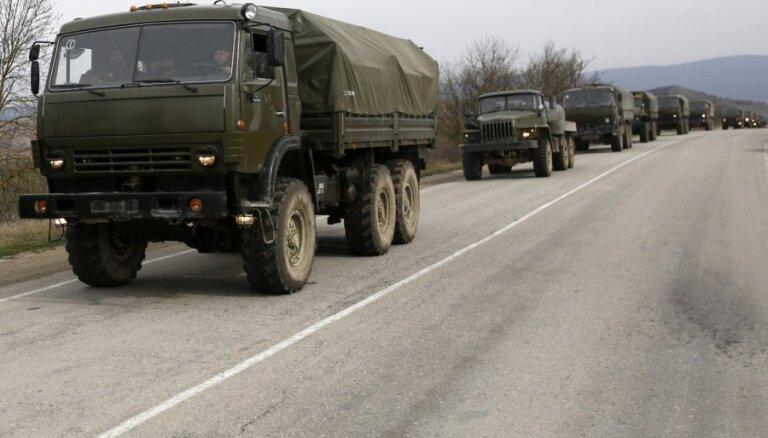 """Россия намерена направить в Крым мотострелковые войска и """"Град"""""""