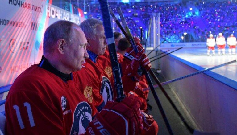 'Diktatoru balagāns' jeb kāpēc Rīgā nespēlē pasaules labākais hokeja uzbrucējs Volodja Putins