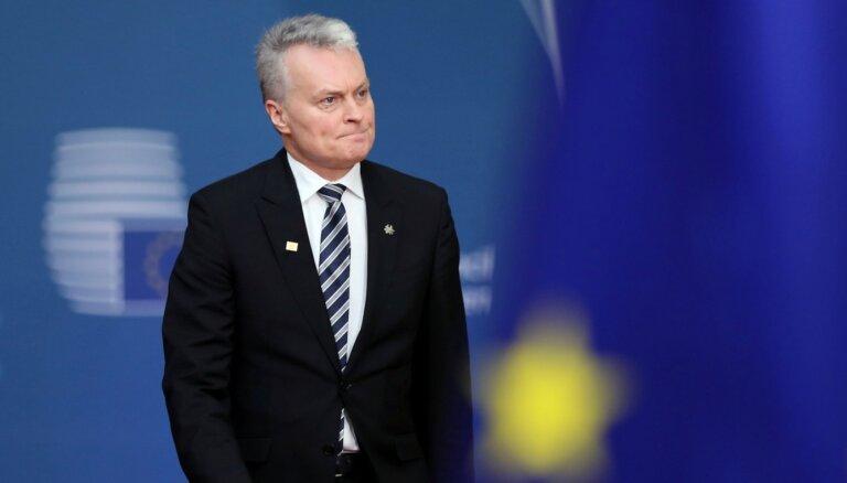 Президент Литвы попросил Байдена увеличить военное присутствие США в регионе
