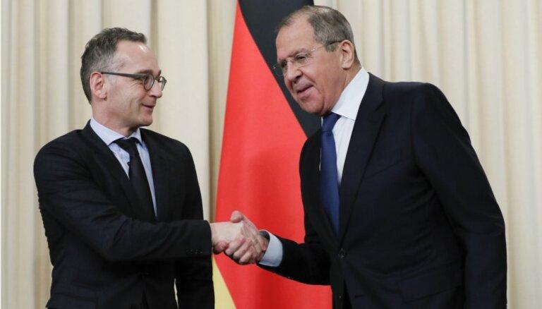 Vācijas ārlietu ministrs aicina Krieviju glābt INF līgumu