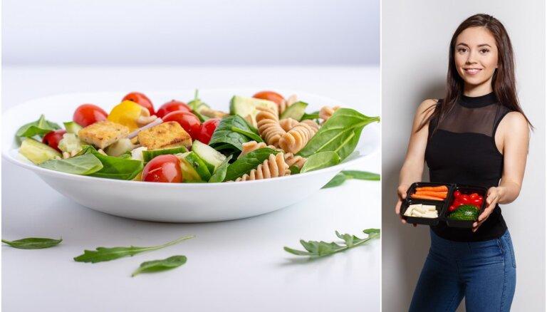 Klinta no 'foodprep.lv' par maltīšu plānošanas priekšrocībām