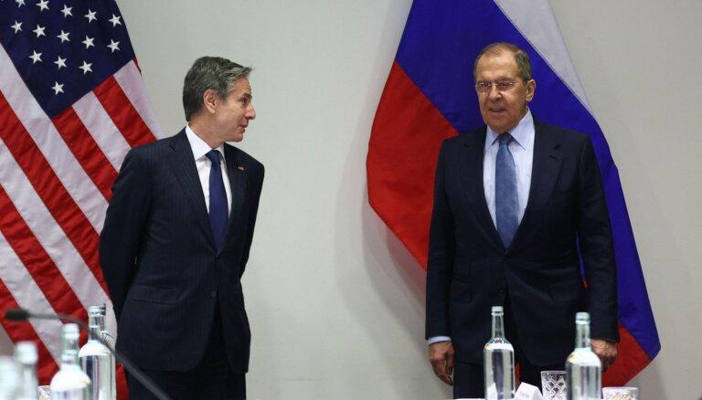 Песков назвал позитивным сигналом переговоры Лаврова и Блинкена