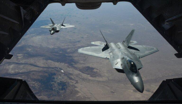 Sīrijā koalīcijas uzlidojumos 'Daesh' teritorijā nogalināti vairāk nekā 40 cilvēki