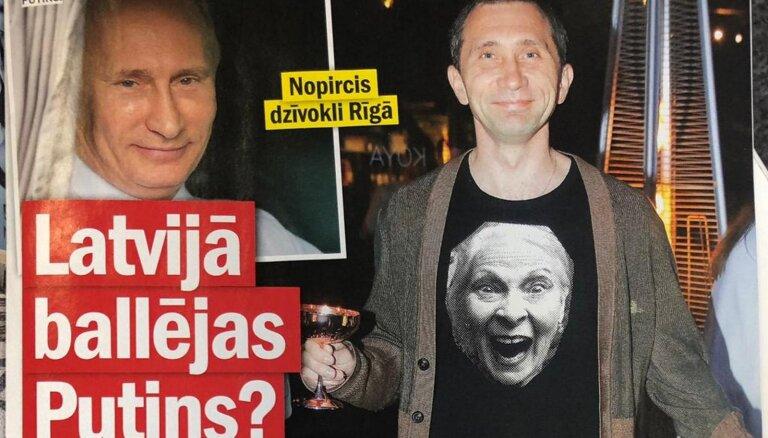 Зачем Путину квартира в Риге, актер против зеленого змия и Пабрикс-каратист: о чем пишут латышские таблоиды