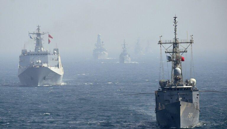 Filipīnas pauž bažas par Ķīnas karakuģu iebraukšanu valsts teritoriālajos ūdeņos