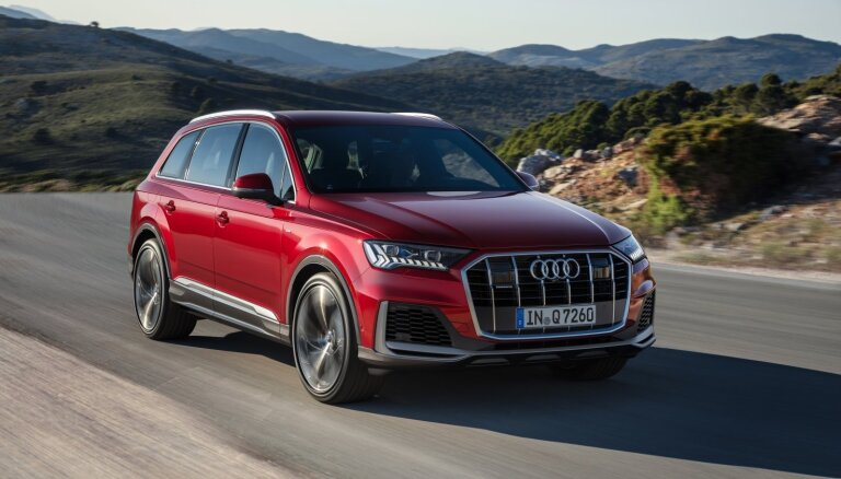 'Audi' modernizējis 'Q7' apvidnieku
