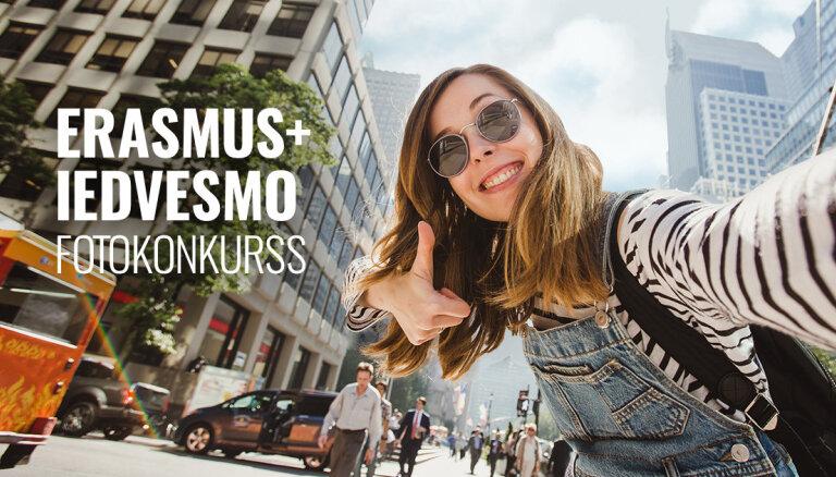 'Erasmus+' iedvesmo: pieredzes stāstu balsojums