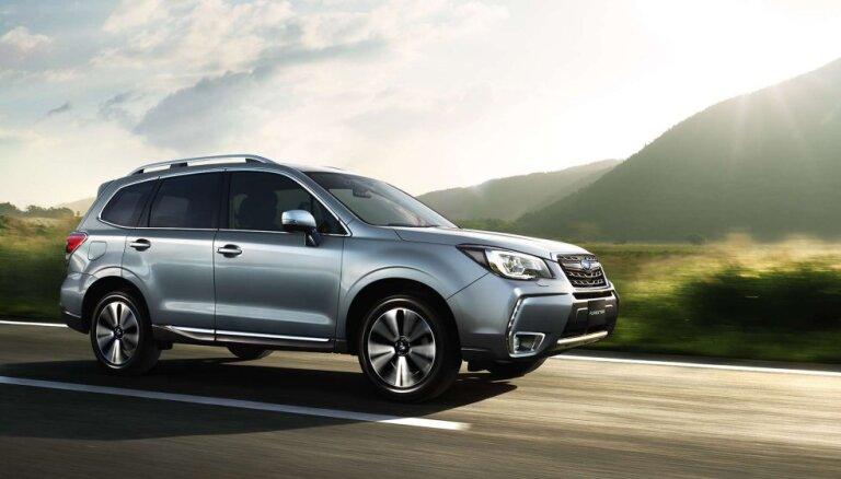 'Subaru' kļuvis par pasaulē lielāko pilnpiedziņas auto ražotāju