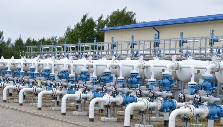 Strīdu par dabasgāzes uzglabāšanas pakalpojumu tarifu projektu skatīs jūnija beigās