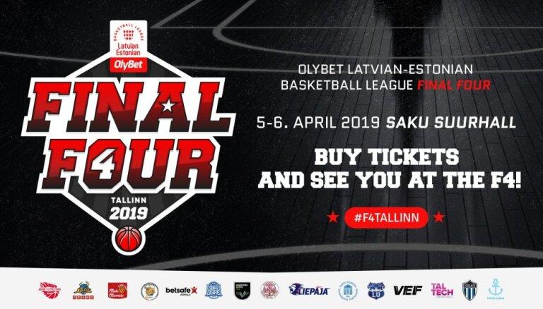 Tirdzniecībā nonāk biļetes uz 'OlyBet' basketbola līgas 'Final Four'