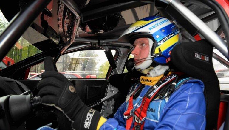 Jari Ketomā nākamsezon apsolīta sešu WRC posmu programma