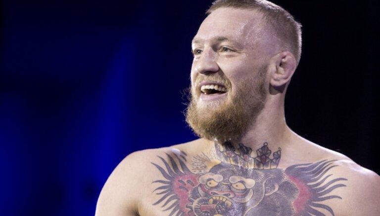 Slavenākais MMA cīkstonis Makgregors tviterī paziņo par karjeras beigšanu