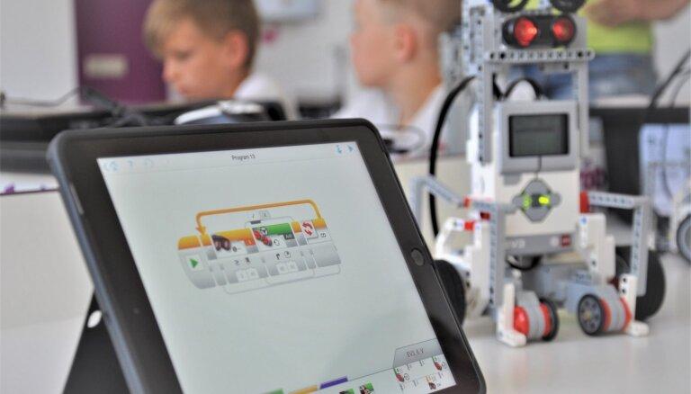 Izglītojošās robotikas nometnes bērniem
