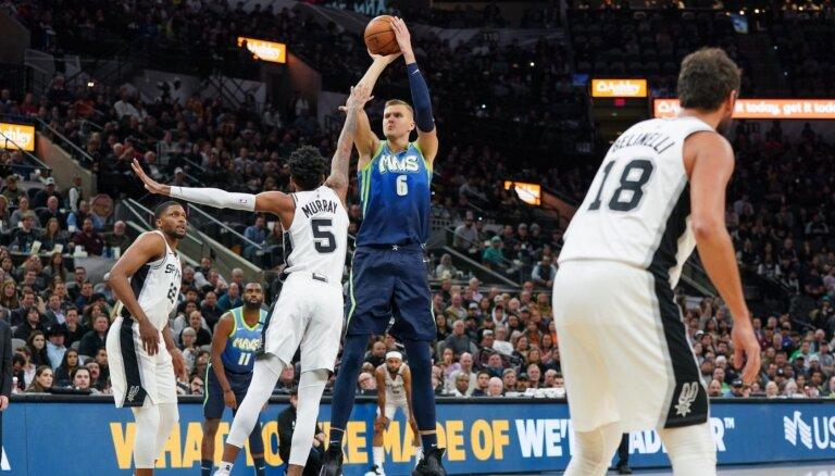 Porziņģis iekļauts NBA 'burbuļa' otrās izlases pieciniekā