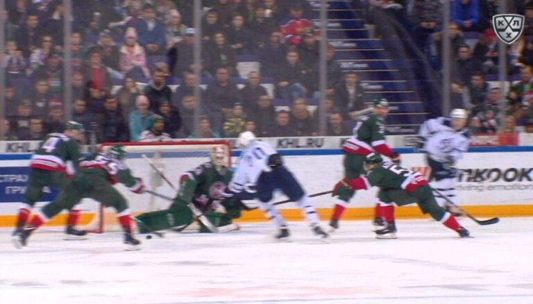 Video: Indrašim divas rezultatīvas piespēles Maskavas 'Dinamo' uzvarā