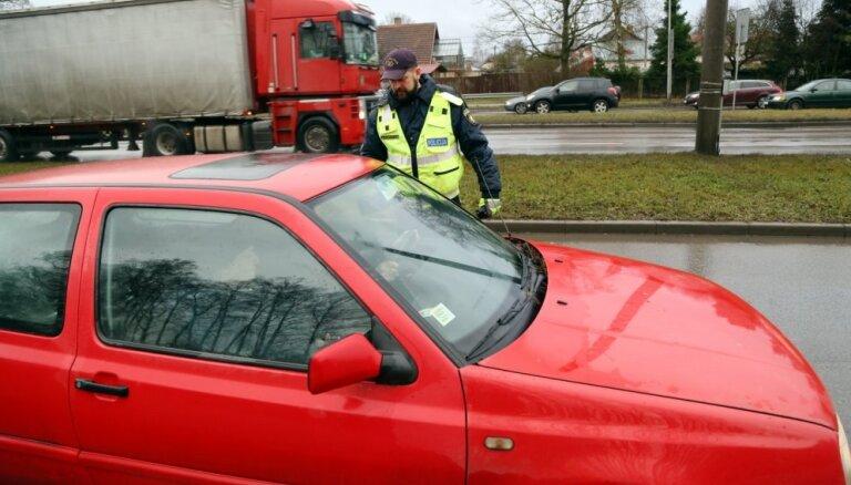В пятницу полиция задержала нетипично большое число нетрезвых водителей