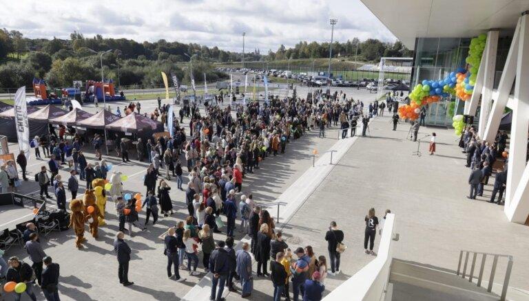 Foto: Rēzeknes olimpiskā centra arēnas atklāšana