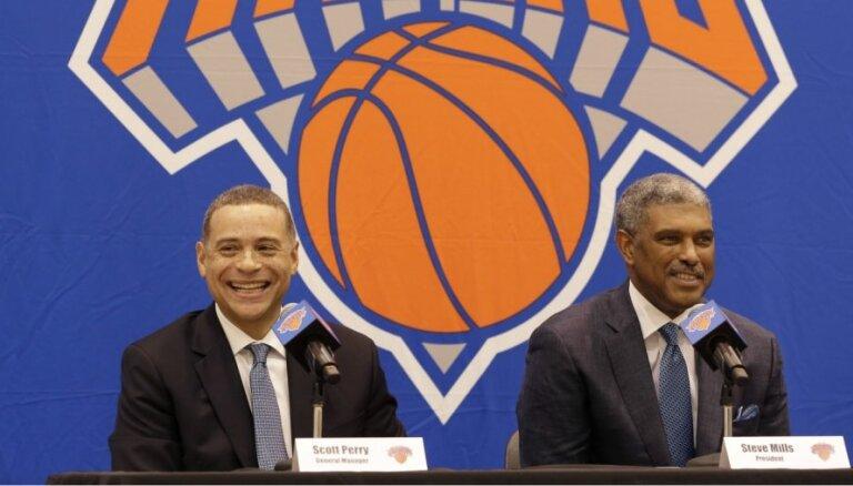 'Knicks' prezidents norāda, ka Porziņģis nav vēlējies palikt Ņujorkā